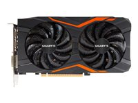 Gigabyte GeForce GTX 1050 Ti G1 Gaming 4G - OC Edition - carte graphique - GF GTX 1050 Ti - 4 Go GDDR5 - PCIe 3.0 x16 - DVI, DisplayPort, 3 x HDMI GV-N105TG1 GAMING-4GD