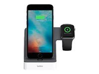 Belkin PowerHouse Charging Dock - socle de charge F8J200VFWHT